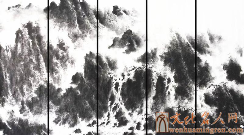 画家 董俊良国画山水欣赏